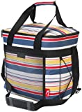 Picnic Insulated Cool Bag includes 2 freezer cool packs and 2 bottle ice coolers. Large- 28 litre
