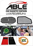 #10: Able Sporty Full Car Sun Shade Curtains For MERCEDES-BENZ E CLASS E 250 Set of 4