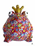 Süße Spardose ~ Froschkönig XL A ~ Pomme Pidou Frosch Sparbüchse Geldgeschenk