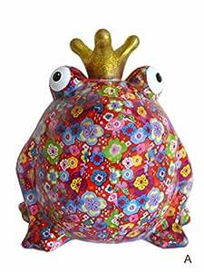 Jolie tirelire ~xL a pomme pidou le roi grenouille tirelire en forme de grenouille geldgeschenk