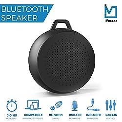 iVoltaa Rugged X1 Portable Bluetooth Speaker (Black)