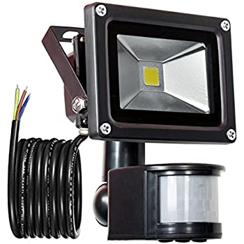 Glw 12v Ac Or Dc Led Motion Sensor Flood Light 10w Mini