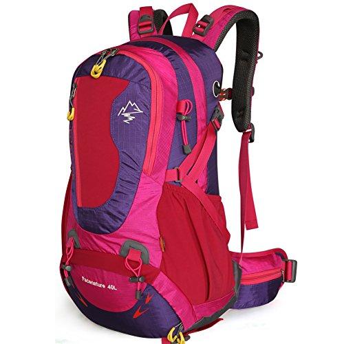 Outdoor Bergsteigen-Tasche/Rucksack-paar/Outdoor Wanderrucksack lila