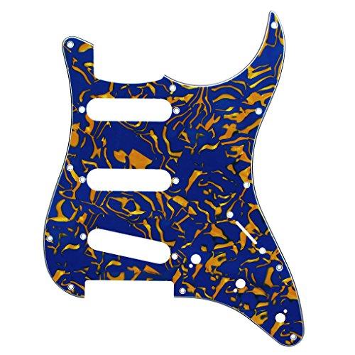 ikn-1pcs-sss-golpeador-de-3capas-para-fender-squier-guitarra-estilo-con-sin-tornillos-color-azul-y-a