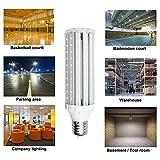 Bonlux 45W E40 Super Brillante LED Lámpara de Maíz Luz Fría 6000K con 4500lm, Reemplazo de 400W Bombilla Hálogena para Casa/Habitación/Studio/Jardín/Patio/Camino/Alumbrado Público
