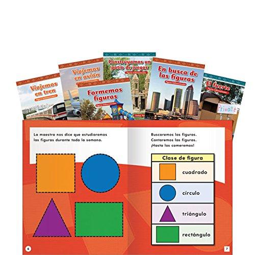 Geometry Set Spanish (Nctm) (Teacher Created Materials Library Set) por Teacher Created Materials