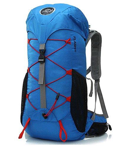 ZQ 35 L Rucksack Legere Sport / Reisen / Laufen Draußen / Leistung Wasserdicht / Multifunktions andere Nylon N/A red+blue