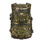 YFNT Militär Schulter Rucksack 49L Tactical Tagesrucksack MOLLE Assault Pack Rucksack Gear...