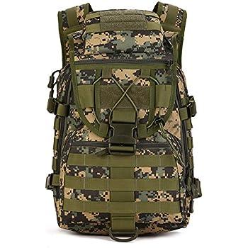 Mochila militar al hombro, 40L, táctico, asalto, impermeable, bolsa para caza