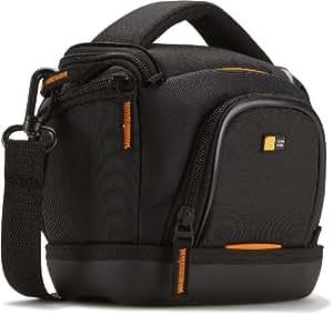 Case Logic SLDC203 Housse semi-rigide pour CN / bridge Noir et Orange,(L x P x H): 115 x 85 x 157 mm