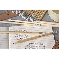 Crayons personnalisés, lot de 100 crayons bois gravé, cadeau pour invités, mariage, fête, anniversaire, personnalisable avec votre texte.
