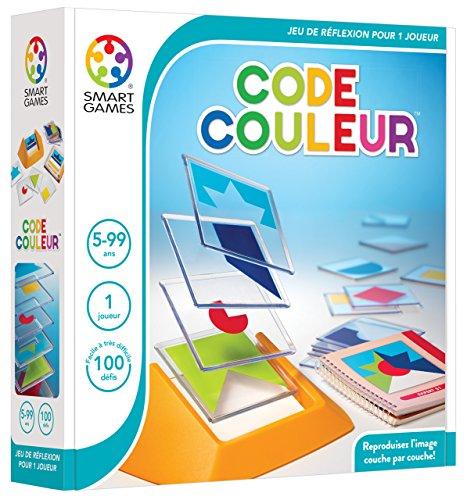 Smart Games–SG 090fr–Spiel der Reflexion–Tangram in 3D–Code Farbe