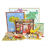 Learning Toys for Kids - AFRICA Activity Kit from Globetrotters (6+ years)