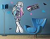 Klebefieber Wandtattoo Monster High Abbey Bominable B x H: 20cm x 38cm