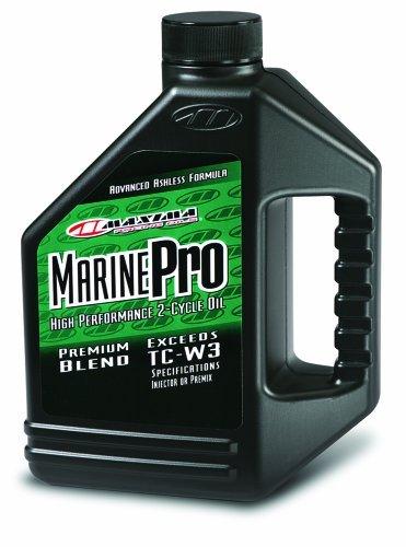 Maxima (259128) Marine Pro 2-Stroke TC-W3 Premix/Injector Oil - 1 Gallon by Maxima