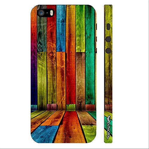 Enthopia Designer Hardshell Case STRIPER WALL Back Cover for Apple Iphone 5,5s,SE  available at amazon for Rs.125