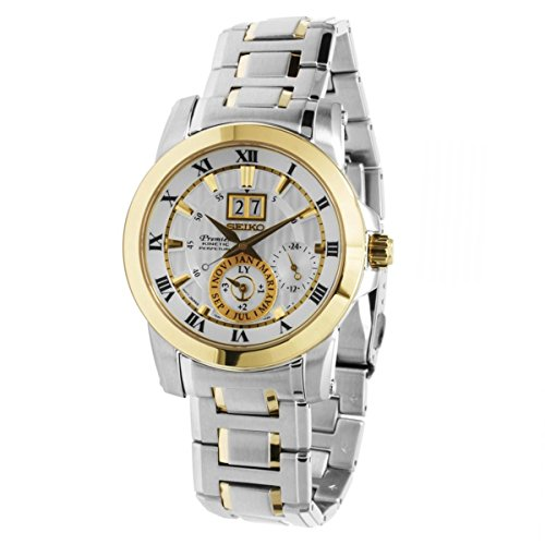 Reloj Seiko Premier Snp094p1 Hombre Blanco