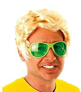 Party Pro-perruque, unisex adulto, 87326001, de oro, talla única