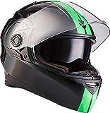 ARMOR HELMETS AF-77 'Racing Neon' · Integral-Helm · Full-Face Motorrad-Helm Roller-Helm...
