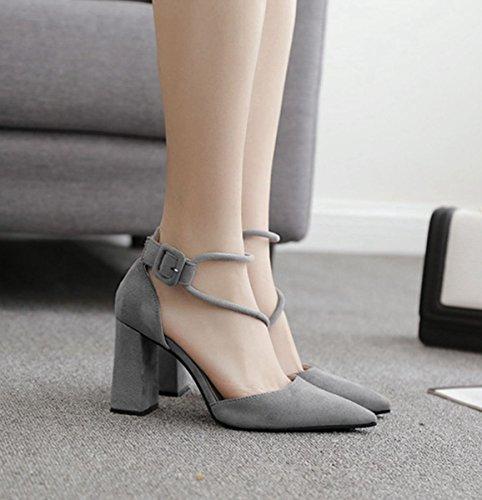 XTIAN - Scarpe con Tacco Donna Grau
