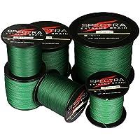 Spectra Extreme Braid - Cuerda de pesca trenzada, resiste de 2,7 a 136 kg, de 100a 2000m, color verde moho, 100m/109Yards 50lb/0.36mm