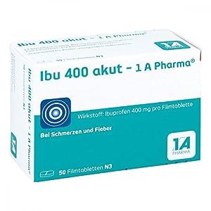 Ibu 400 akut – 1 A Pharma, 50 St. Tabletten