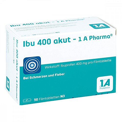 Ibu 400 akut 1A-Pharma Tabletten, 50 St.
