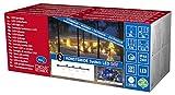 Konstsmide 4650-507 LED Hightech System Erweiterung / Lichterkette / für Außen (IP44) /  100 bunte Dioden / schwarzes Softkabel