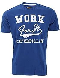Caterpillar Work for It - T-shirt à manches courtes 100% coton - Homme