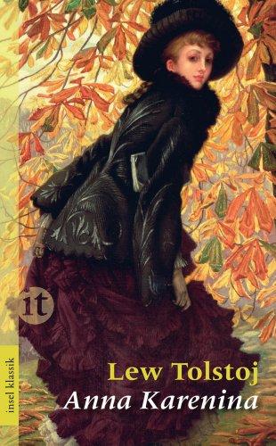 Buchseite und Rezensionen zu 'Anna Karenina' von Leo Tolstoi