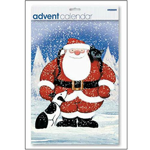 Branded Advent Calendar - (WDM2931) - Raymond Briggs - Father Christmas by Woodmansterne