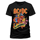 AC/DC Are you Ready Logo T-Shirt Offizielles Lizenzprodukt