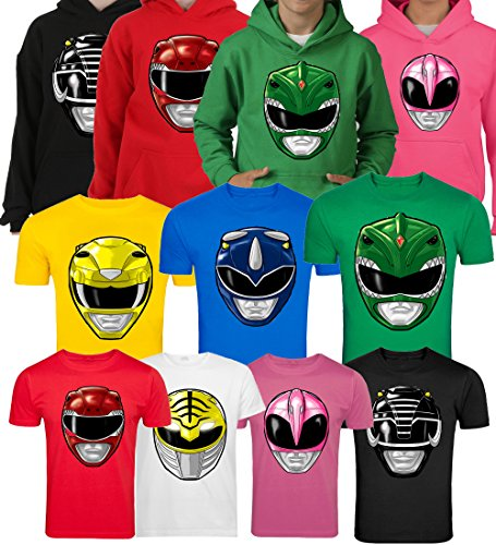 MIGHTY MORPHIN POWER RANGERS KIDS & ADULTS T-SHIRT