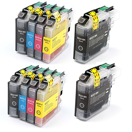 10 Stücke (4BK, 2C, 2M, 2Y) Tinten Für Brother LC223 LC223XL Tintenpatronen Kompatibel Für Brother DCP-J4120DW J562DW MFC-J5320DW J5620DW J5625DW J5720DW J480DW J680DW J880DW J4420DW J4620DW J4625DW (10 Combo Pack Kompatibel)