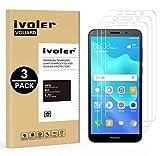 iVoler [Lot de 3] Verre Trempé pour Huawei Honor 7S / Huawei Y5 2018 / Huawei Y5 Prime 2018 [Garantie à Vie], Film Protection en Verre trempé écran Protecteur - Transparent