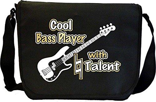 Bass-Guitar-Cool-Player-Natural-Talent-Sheet-Music-Document-Bag-Musik-Notentasche-MusicaliTee