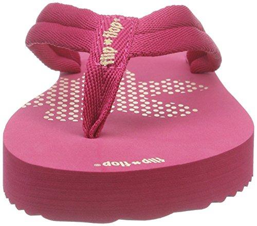 flip*flop Slim Tex, Tongs femme Rose - Pink (251)