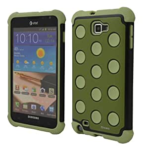Aduro Samsung Galaxy Note Impact Case (for AT&T and International Version) Military Green