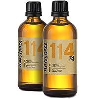 Naissance Zypresse (Cupressus sempervirens) 200ml (2 x 100ml) 100% naturreines ätherisches Öl preisvergleich bei billige-tabletten.eu