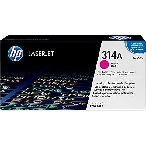 HP Q7563A - Tóner HP 314A LaserJet, magenta