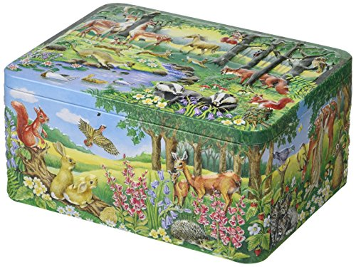 Churchill's Forest Tin with Jelly Babies and Jelly Beans 300 g