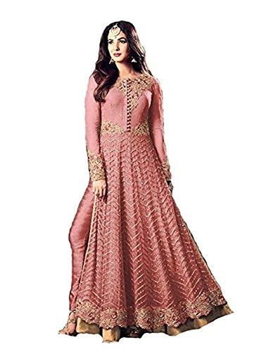 Monika Silk Mill salwar suits for women (MSM-707-pink)