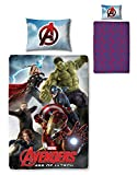 Character World Disney Marvel Avengers Age of Ultron Single Panel Duvet Set