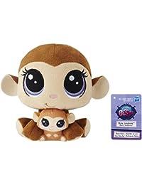 Littlest Pet Shop Mona Junglevine And Merry Junglevine Plush Pairs