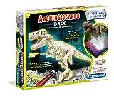 Clementoni- T-Rex Archeogiocando Luminoso al Buio, Multicolore, 13980