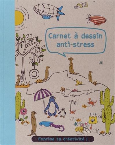 CARNET A DESSIN ANTI-STRESS par Frances Prior-Reeves