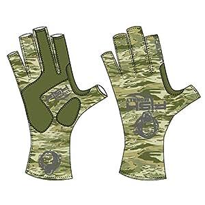 Fish monkey gloves half finger guide gloves xx large for Fish monkey gloves