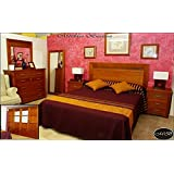 Muebles de dormitorio: muebles cama, mesilla, armario y comoda para dormitorio