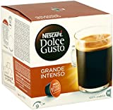 Nescafé Dolce Grande Intenso, Pack of 3 (Total 48 servings, 48 servings)