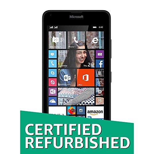 (Certified REFURBISHED) Microsoft Lumia 640 (Black, 8GB)